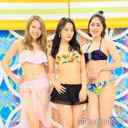 (左から)蘭、青科まき、大槻凡子(C)モデルプレス