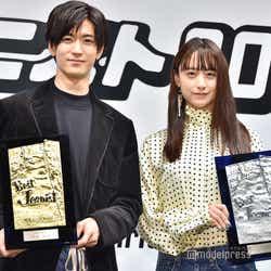 殿堂入りした中島裕翔、初受賞した山本美月/「第36回ベストジーニスト2019発表会」より(C)モデルプレス