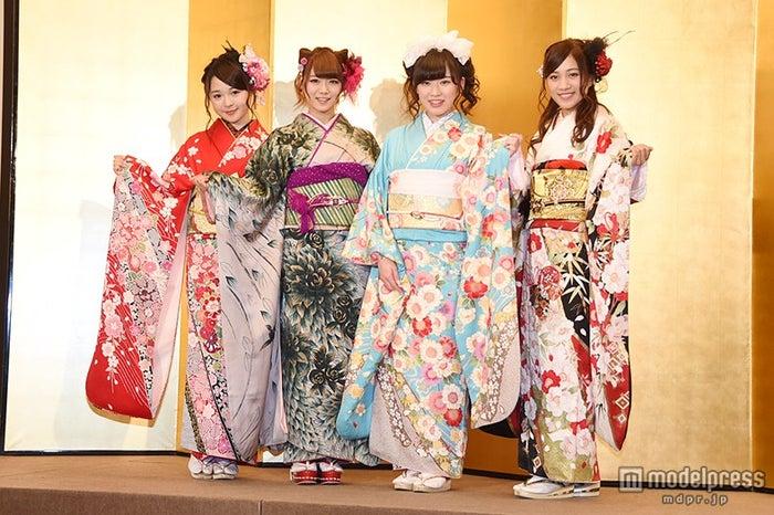 SKE48(左から)加藤るみ、山内鈴蘭、岩永亞美、斉藤真木子