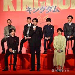 山崎賢人の挨拶/映画『キングダム』製作報告会見(C)モデルプレス