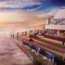 星野リゾート トマム「雲海テラス」天空の絶景鑑賞スポットがリニューアル、カフェも併設