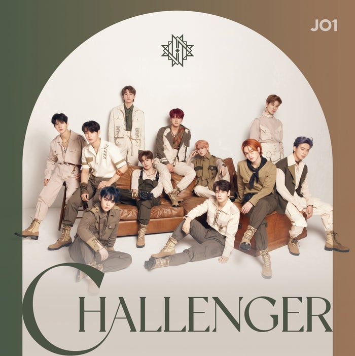 JO1「CHALLENGER」初回限定盤A (C)LAPONE ENTERTAINMENT