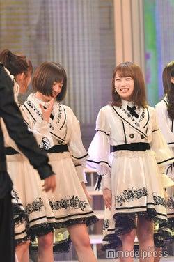 中田花奈、秋元真夏/「第69回NHK紅白歌合戦」 (C)モデルプレス