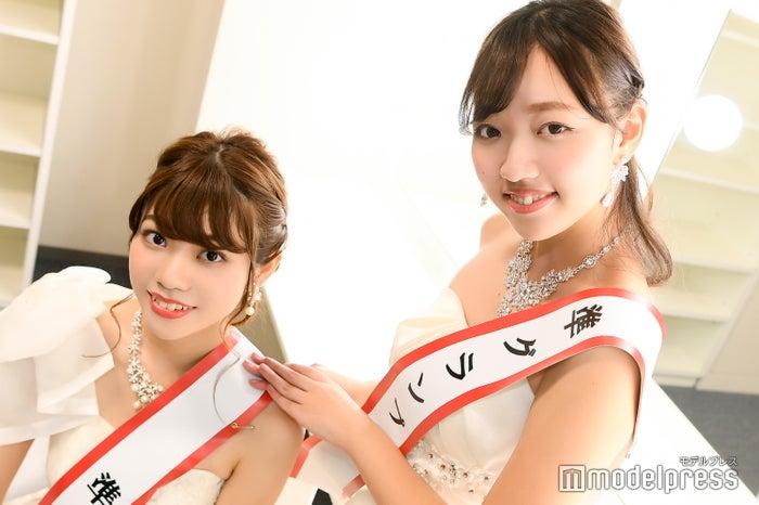 モデルプレスの取材に応じた大間知莉奈さん、五十嵐瑞姫さん(C)モデルプレス