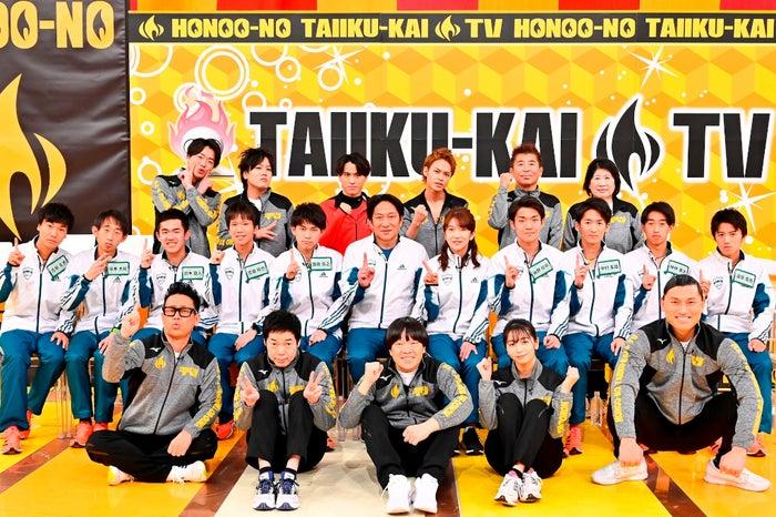 25日放送『炎の体育会TVSP』より(C)TBS