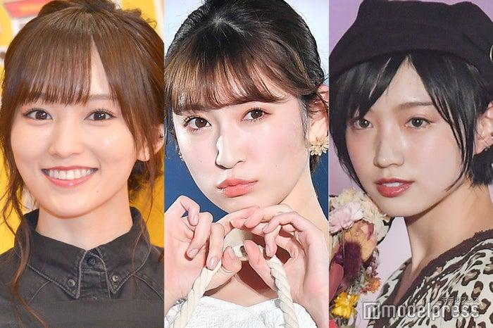 山本彩、吉田朱里、太田夢莉(写真は過去イベントにて撮影) (C)モデルプレス
