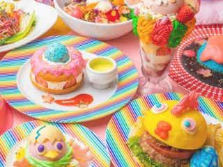 「KAWAII MONSTER CAFE」で春フェアが開催 パワフルカラーで身も心も元気に!