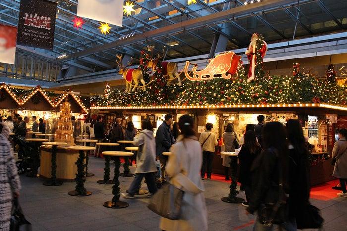 クリスマスマーケット/画像提供:六本木ヒルズ