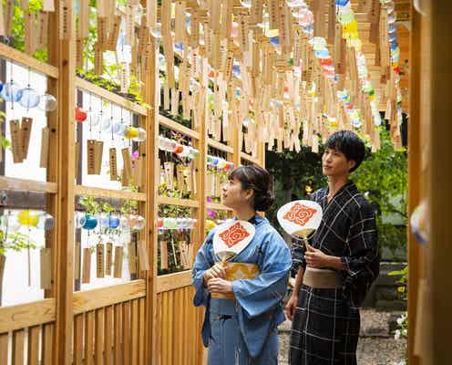 風鈴2000個が涼しげ!川越の夏の風物詩「縁むすび風鈴」でSNS映えデートしちゃお