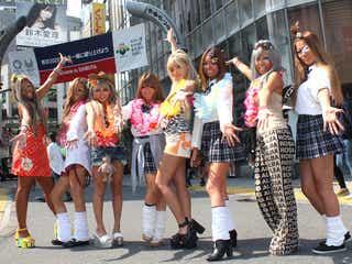 元祖ガングロギャル集団Black Diamondが本領発揮 渋谷ど真ん中でパラパラ