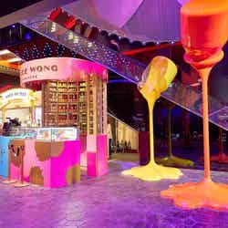 韓国パラダイスシティ「チョコレートストリート」甘くフォトジェニックな芸術空間が誕生