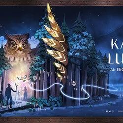 「カムイルミナ」2021年も開催、アイヌの神々の世界を冒険するナイトウォークイベント