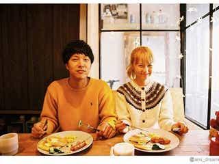 Dream Ami、元テラハ半さんとの結婚報告2ショットは「お家でAyaちゃんが撮ってくれました」 オシャレな自宅に驚きの声