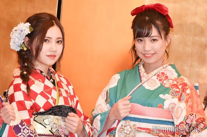 北川綾巴、荒井優希/AKB48グループ成人式記念撮影会 (C)モデルプレス