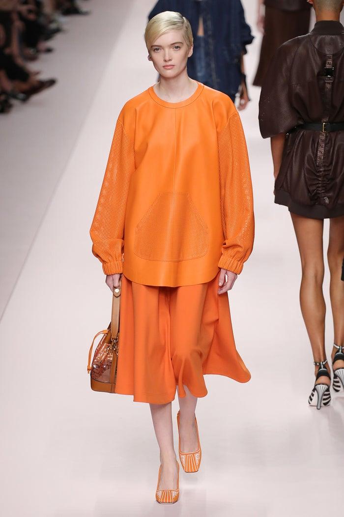 「Fendi」ミラノファッションウィーク Spring/Summer 2019より(photo:Getty Images)