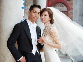 EXILE AKIRA&リン・チーリン、台湾で挙式 披露宴ではLDHメンバーからサプライズメッセージ