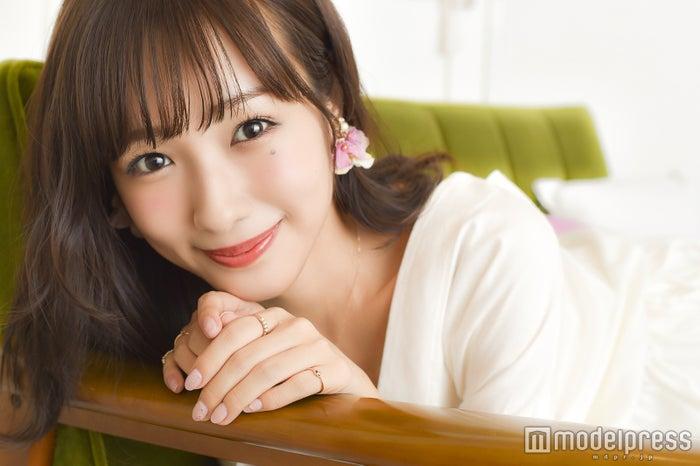 モデルプレスのインタビューに応じた前田希美(C)モデルプレス