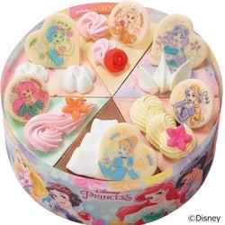 サーティワン「'ディズニープリンセス' パレット6」'白雪姫''アリエル'など勢揃いの新作アイスケーキ