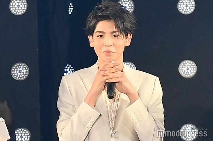 MCではあどけない表情を見せ、吉村崇から「ラウちゃん!」と呼ばれていたラウール(C)モデルプレス