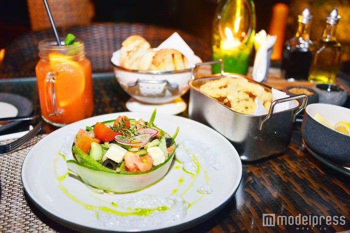 ディナーメニューは地中海料理がメイン(C)モデルプレス