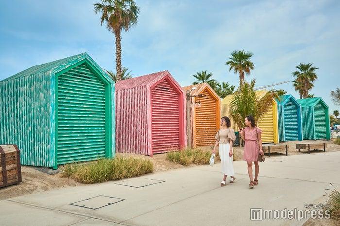 ラ・メールに隣接するビーチもフォトジェニックな魅力にあふれる(C)モデルプレス