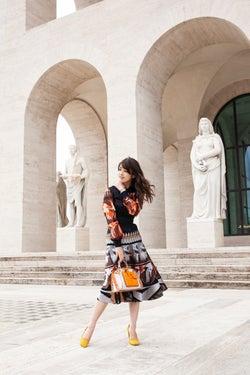 馬場ふみか「FENDI」イベントに日本から唯一参加 0泊3日でローマへ