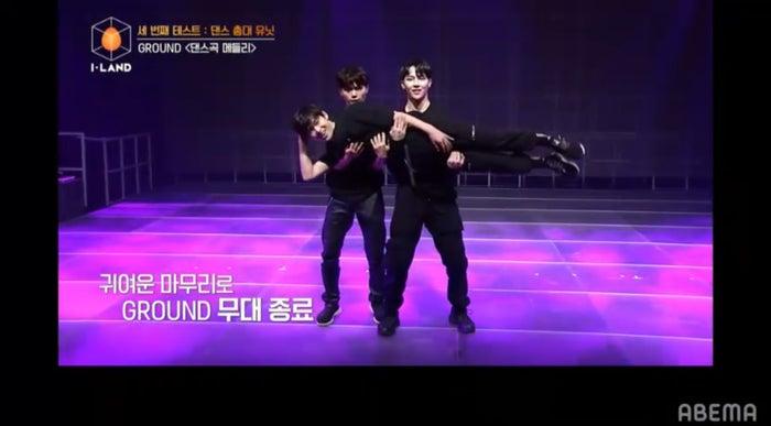 GROUNDのダンスステージ(C) AbemaTV, Inc.