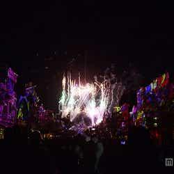 新しい花火のショー「ディズニーランド・フォーエバー」