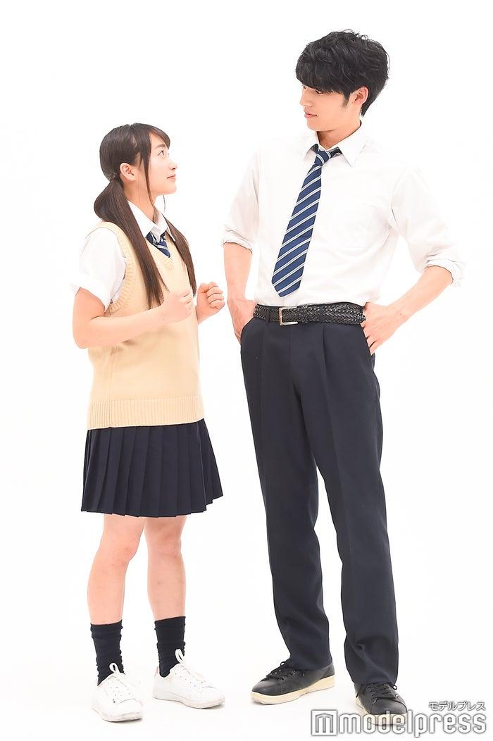 福田愛依、岡田健史 (C)モデルプレス