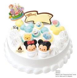 'ディズニー ツムツムランド' バブルファンタジー 4,000円/画像提供:B-R サーティワン アイスクリーム
