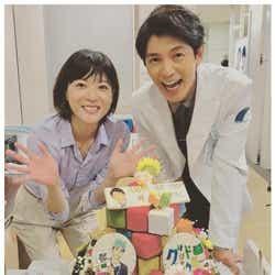 モデルプレス - 上野樹里、藤木直人の誕生日を祝福 山崎賢人主演「グッド・ドクター」現場で