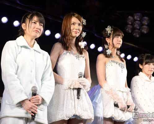 AKB48メンバー、涙と笑顔の卒業公演