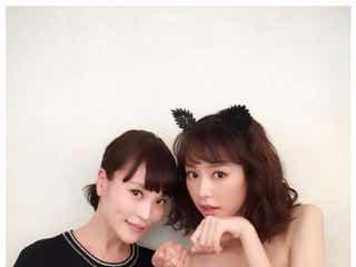 桐谷美玲、セクシー猫ショット公開「世界一美しい」美女2ショットにも反響