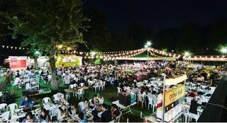 「森のビアガーデン」明治神宮外苑で開催、緑に囲まれBBQ&クラフトビールが充実