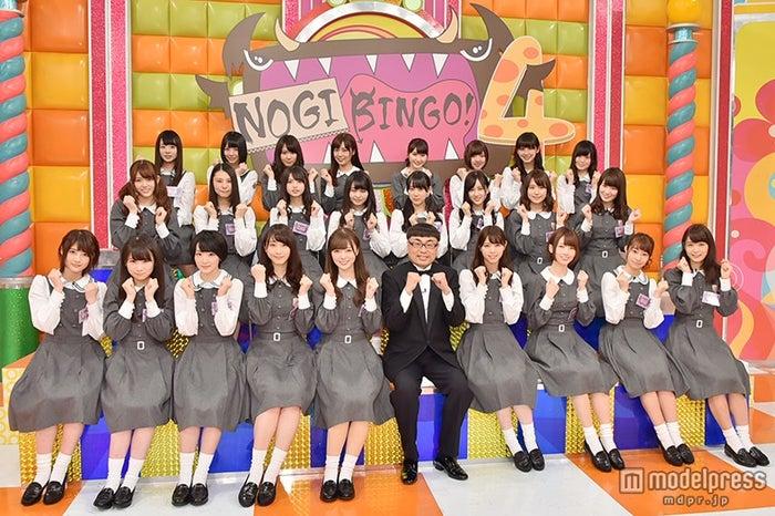 「NOGIBINGO!4」囲み取材の様子