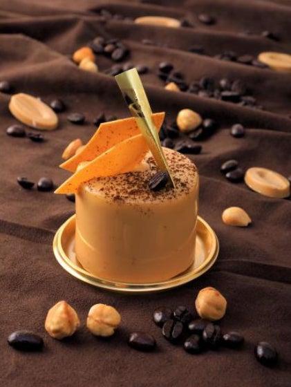 チョコレートを知り尽くした江口和明が手掛ける締めのスイーツ/画像提供:ブロードエッジ・ファクトリー
