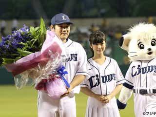 『あの花』ヒロイン・浜辺美波「おかわりに親近感」始球式初挑戦