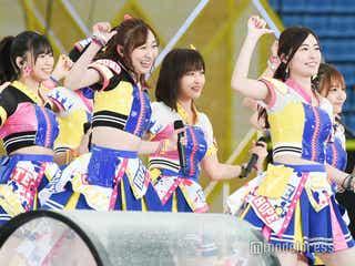 SKE48、松井珠理奈センターでAKB48楽曲も特別披露 雨に負けずパワフルステージ<AKB48グループ春のLIVEフェス>
