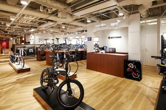 フォールディングバイク・DAHON/画像提供:日本空港ビルデング