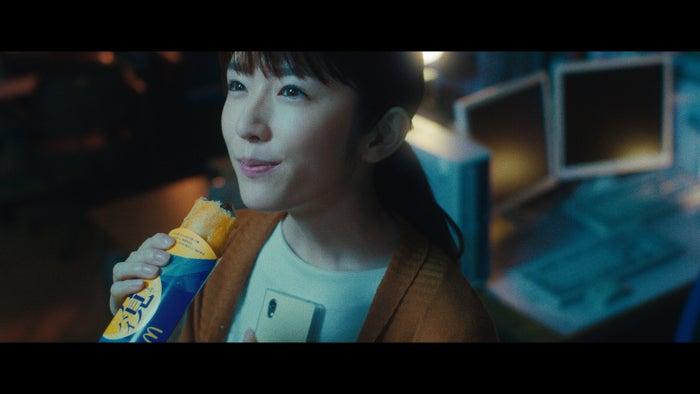 樋口柚子/「月見パイ」篇より(画像提供:日本マクドナルド)