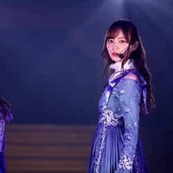 梅澤美波「乃木坂46 9th YEAR BIRTHDAY LIVE」(提供写真)