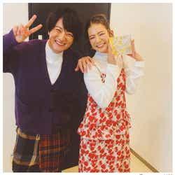 モデルプレス - スザンヌ&上地雄輔、懐かし2ショットにファン歓喜「ヘキサゴン思い出す」