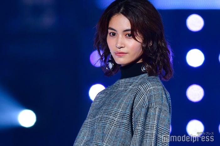 「東京ガールズコレクション 2018 AUTUMN/WINTER」に出演した楓(C)モデルプレス
