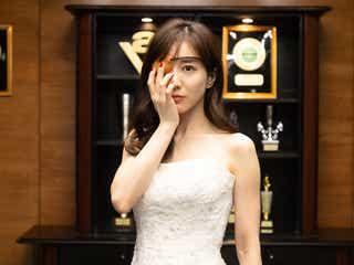 田中みな実、狂気のウエディングドレス披露 眼帯の謎も明らかに<M 愛すべき人がいて>