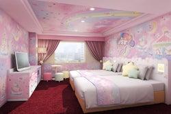 京王プラザホテル多摩、世界初キキララ&マイメロ客室を新設