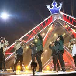 デビュー評価「GrandMaster」ステージ「PRODUCE 101 JAPAN」最終回(C)LAPONE ENTERTAINMENT