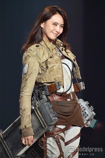 「神戸コレクション2015 A/W」に出演した加藤夏希【モデルプレス】