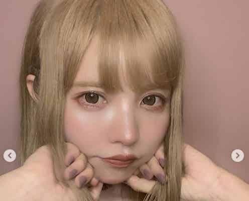 """益若つばさ、中国で流行中""""いちご鼻メイク""""披露「可愛すぎる」「似合ってる」の声"""