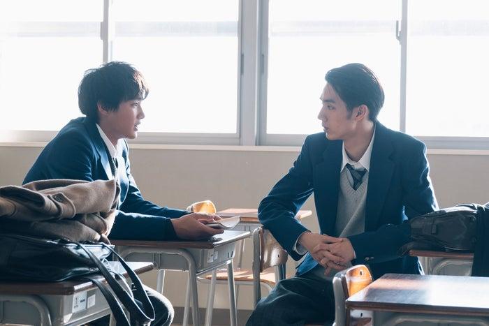 野村周平、清水尋也/「電影少女」第3話より(C)「電影少女2018」製作委員会