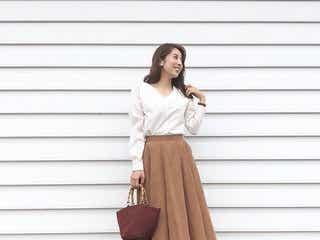 高見えなスウェード風スカートやパンツで大人っぽく。プチプラなのにシックな冬のスウェードコーデ8選♥